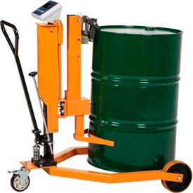 Ergonomic Drum Lift Truck with Scale