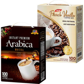 3 in 1 Instant Coffee Packets