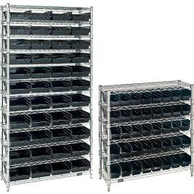 Wire Shelving With Conductive Shelf Bins