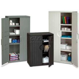 Facile à assembler des armoires de rangement en plastique