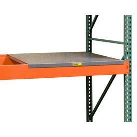 Palettier - platelage en acier solide & perforé