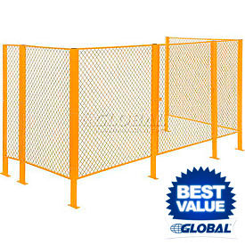 Modular Security Wire Fence Partitions