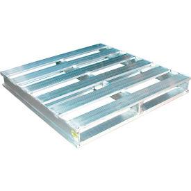 Demi palettes en aluminium