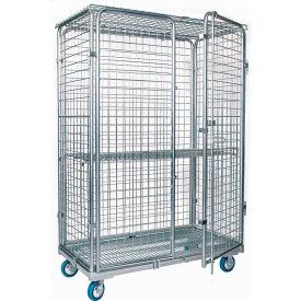 Adjustable Wire Shelf Security Trucks
