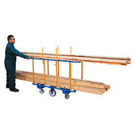 Horizontal Lumber Transport Cart
