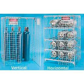 Gaz bouteille stockage Cage - fil d'acier