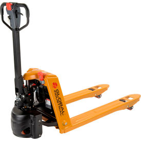 Semi-Electric Self-Propelled Pallet Jack Trucks