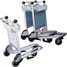 Nestable Multi-Use Platform Shopping Cart with Brakes