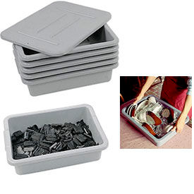 All-Purpose Nesting Bus and Utility Tubs