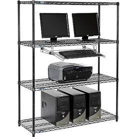 Poste de fil rayonnage informatique LAN