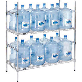 5 Gallon Water Bottle Storage Racks