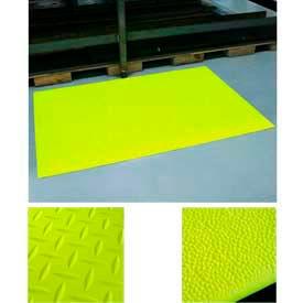 Tapis de sécurité anti Fatigue pour le PVC éponge haute visibilité