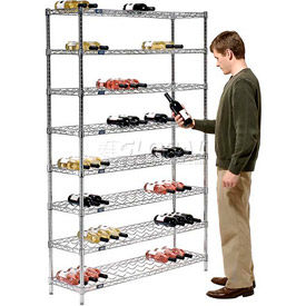 Wine Bottle Racks - Wire Shelving