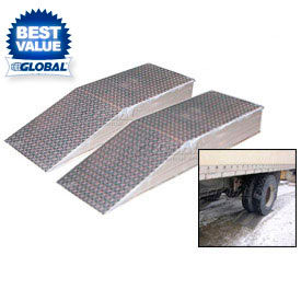 Heavy Duty Aluminum Wheel Riser Ramps
