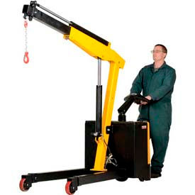 Electric Powered Lift & Drive Floor Crane