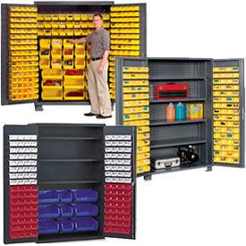 All-Welded 14 Gauge Bin Cabinets