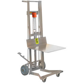 Stainless Steel Foot Pedal Lift Trucks