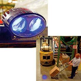 Forklift Pedestrian Safety Warning Spotlights
