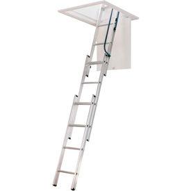 Werner® Aluminum Attic Ladders