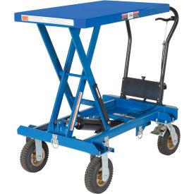 Vestil Pneumatic Tire Hydraulic Elevating Carts