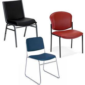 Vinyl Stacking Chairs