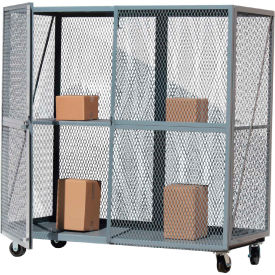 Steel Open Mesh Security Trucks