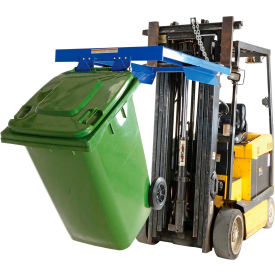 Forklift Mount Trash Can Dumper