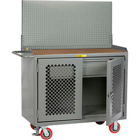 Mobile Service Cabinet Benches with Panel