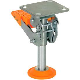 Floor Locks with Thermoplastic Polyurethane Foot Pad