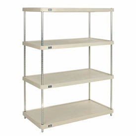 Nexel - Solid Plastic Shelving - Poly-Z-Brite
