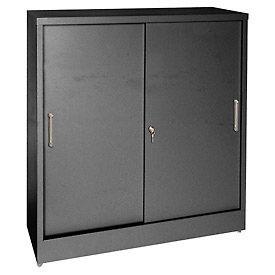 Porte coulissante hauteur comptoir armoires