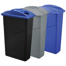 Global Industrial™ poubelles Slim