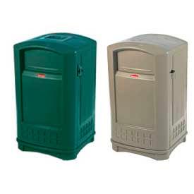 Rubbermaid Plaza® plein air 50 Gallon poubelle