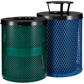 Global Industrial™ Thermoplastic Coated Trash Receptacles (en anglais)
