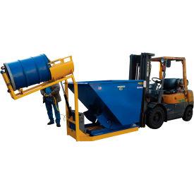 Battery Powered Forklift Trash Drum Dumper