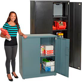 Global™ EZ Assemble Steel Storage Cabinets