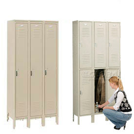 Penco Vanguard™ Steel Locker With Latching Pull Handle Assembled