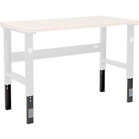 Global Industrial™ Open Leg Workbench Leg Extenders
