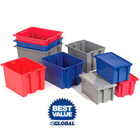 Global Industrial™ Stack & Nest Conveyor and Storage Totes