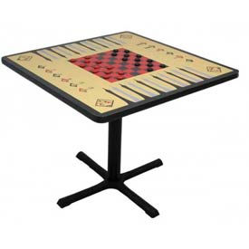 Allied -  Square Laminate Game Table