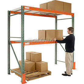 Global - Made in USA - Pre-Configured Pallet Rack Starter & Add-On Units