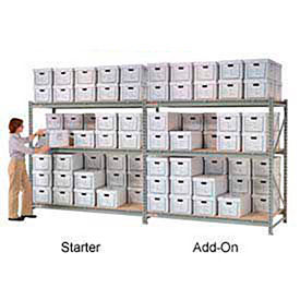 Heavy Load Record Storage Center - Made in USA - 72