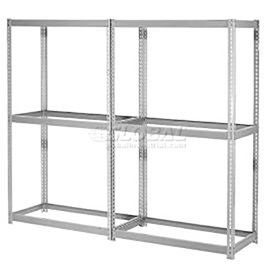 7'H Expandable Bulk Metal Storage Rack Without Deck - Made in USA