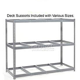 5'H Boltless Wide Span Metal Storage Rack Without Decking - Made in USA