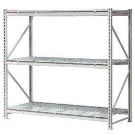 Global - Rack de stockage de vrac métalliques capacité extra-haute avec tablier métallique