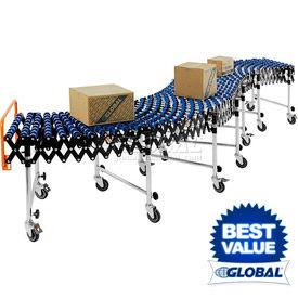 Global Industrial™ Portable Flexible & Expandable Gravity Conveyors