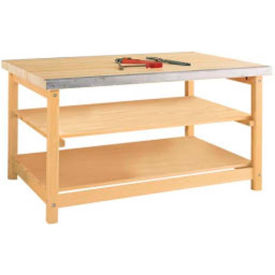 Sheet Metal Maple Benches