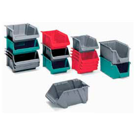 Lewisbins Fiberglass Stack and Nest Hopper Bins