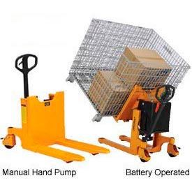 Portable Container, Pallet & Skid Tilters