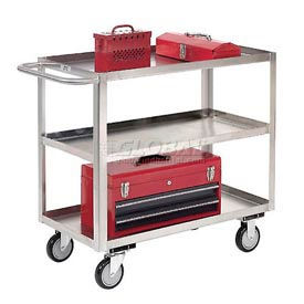 Stainless Steel Utility & Stock Carts - Welded